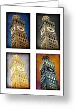 Bromo Seltzer Tower Quad Greeting Card