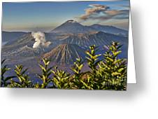 Bromo Tengger Semeru National Park Greeting Card