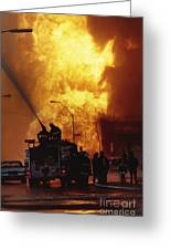 Bronx Gas Explosion Greeting Card