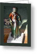 Bronze Dancer Greeting Card