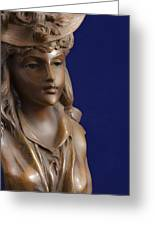 Bronze Lady Greeting Card