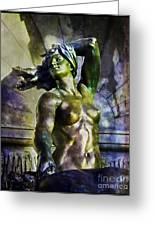 Bronze Nude Greeting Card