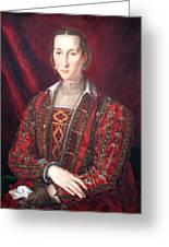 Bronzino's Eleonora Di Toledo Greeting Card