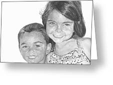Brooke And Carter Greeting Card