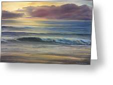 Brookings Beach After The Storm Greeting Card