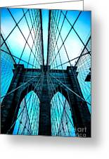 Brooklyn Blues Greeting Card