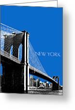 Brooklyn Bridge Greeting Card by DB Artist