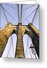 Brooklyn Bridge01 Greeting Card