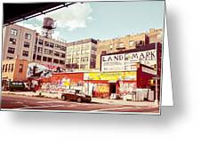 Brooklyn - New York City - Williamsburg Greeting Card