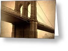 Brooklyn Nostalgia Greeting Card