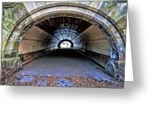 Brooklyn Prospect Park Tunnel Greeting Card