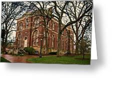 Brooks Hall At University Of Virginia Greeting Card