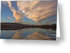 Broomtail Sky Greeting Card