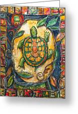 Brother Turtle Vi Greeting Card