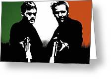 Brothers Killers And Saints Greeting Card