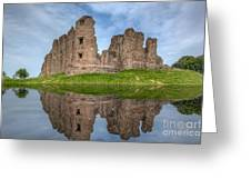 Brough Castle Greeting Card