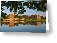 Broughton Castle Greeting Card