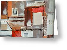 Brown Alley 1 Greeting Card