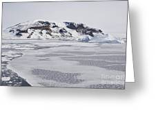 Brown Bluff, Antarctica Greeting Card