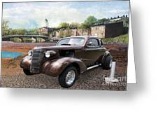 Brown Classic Collector Greeting Card