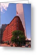 Brown Palace Hotel In Denver Colorado Greeting Card