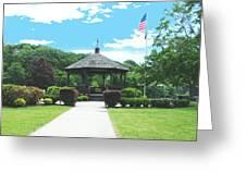Brown Park Greeting Card