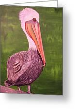 Brown Pelican I Greeting Card