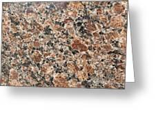 Brown Red Granite  Greeting Card