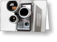 Brownie Movie Camera Greeting Card