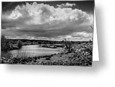 Brownsmead Panorama Greeting Card