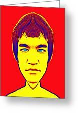 Bruce Lee Alias Greeting Card
