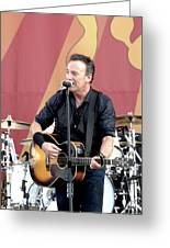 Bruce Springsteen 12 Greeting Card