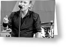 Bruce Springsteen 13 Greeting Card