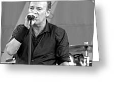 Bruce Springsteen 14 Greeting Card