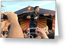 Bruce Springsteen 15 Greeting Card