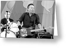 Bruce Springsteen 3 Greeting Card