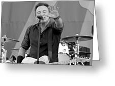Bruce Springsteen 5 Greeting Card