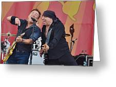Bruce Springsteen 9 Greeting Card