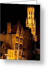 Brugge Architecture Greeting Card