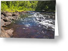 Brule River 2 Greeting Card