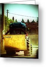 Brunello Taxi Greeting Card