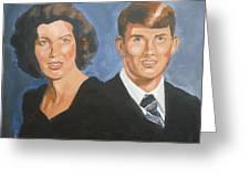 Bryan And Gina Greeting Card