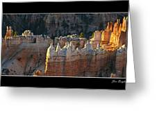 Bryce Canyon At Sunrise Greeting Card