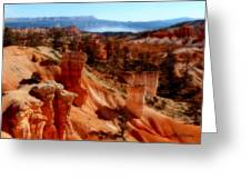 Bryce Canyon Cliff Greeting Card