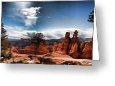 Bryce Canyon Drama Greeting Card