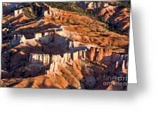 Bryce Canyon From The Air Greeting Card