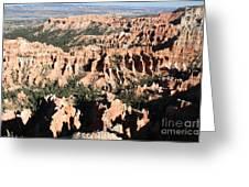 Bryce Canyon Hoodoos And Fins Greeting Card