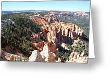 Bryce Canyon Hoodoos Landscape Greeting Card
