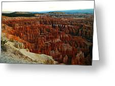 Bryce Canyon In The Afternoon Greeting Card
