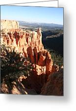 Bryce Canyon Landscape Greeting Card